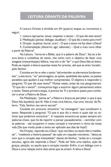 Livro de Peregrinação e Programação do Círio 2011 - Basílica ...