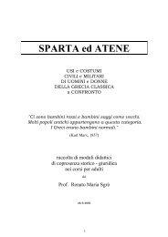 Sparta e d Atene a confronto - disan altervista