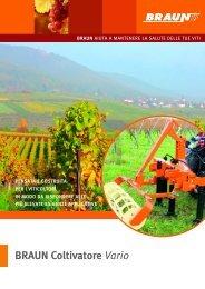 vedi pdf specifiche tecniche (it e fr) - AZ Macchine Agricole BRAUN