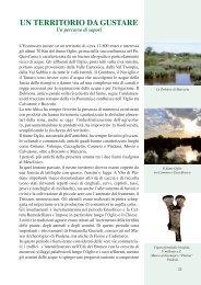 UN TERRITORIO DA GUSTARE - Ecomuseo Valli Oglio-Chiese