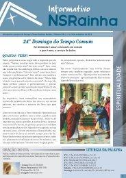 Informativo Semanal_534.pdf - PARóQUIA NOSSA SENHORA ...