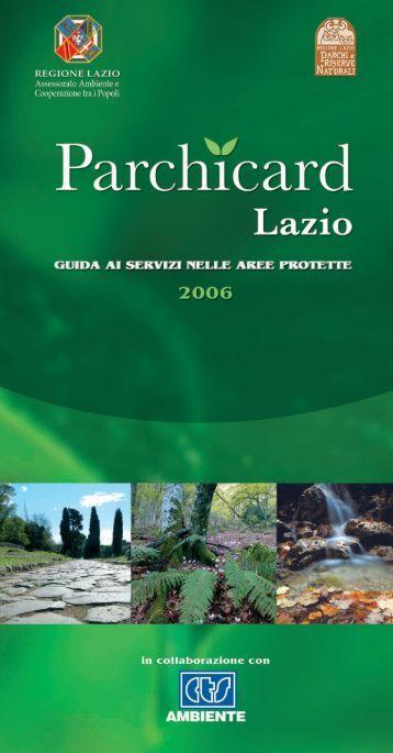 Parchicard Lazio - Lupacchiotti.It