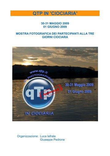 QTP IN 'CIOCIARIA'