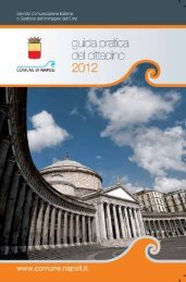 Archivio PDF: Guida 29 11 2011 - Comune di Napoli