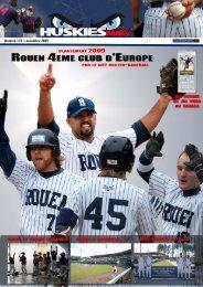Huskies'Mag 173 - Rouen Baseball 76