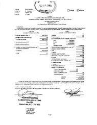 Amended SOA 439288 B.C. Ltd. (court filed) - PwC