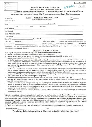 Concussion Information and Consent Form - Clay County Soccer Club
