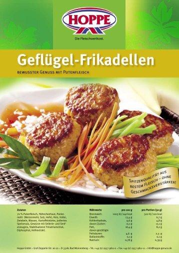 LEH Geflügel-Frikadellen PDF | 501 KB - Hoppe