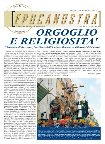 numero 5 2010 - EPUCANOSTRA.it