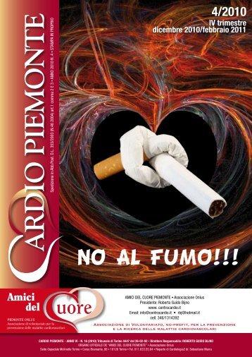 NO AL FUMO!!! - AMICI DEL CUORE