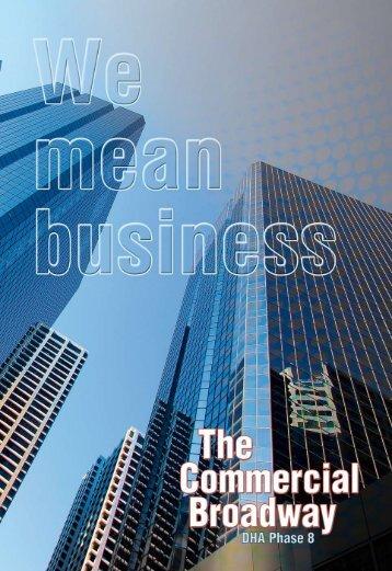 commercial Broadway brochure