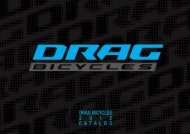 Catalogue 2012 - Drag Bicycles