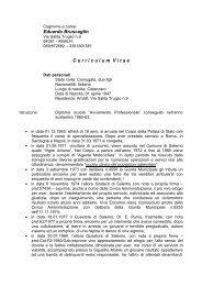 BRUSCAGLIN Eduardo cv - Comune di Amalfi