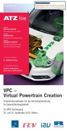 VPC – Virtual Powertrain Creation - ATZlive