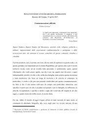 discorso Cortese.pdf - Comune di Bassano del Grappa