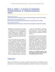 Entre el diseño y la realidad en experiencias interinstitucionales de ...