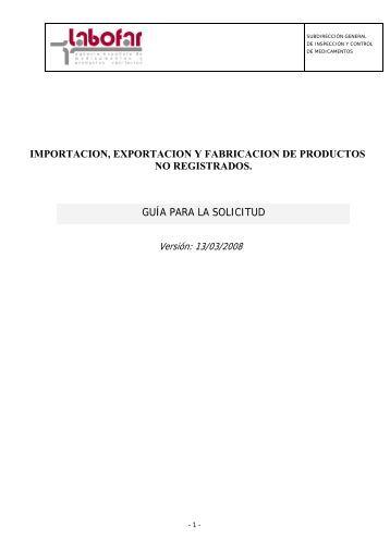Manual - Agencia Española de Medicamentos y Productos Sanitarios
