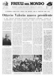 FRIUU NEL MONDO - Ente Friuli nel Mondo