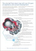 Spirax Ball FLoat Steam Traps Brochure Final ... - Forbes Marshall - Page 2