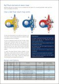 Spirax Ball FLoat Steam Traps Brochure Final ... - Forbes Marshall - Page 3