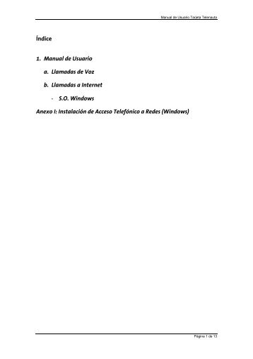 Manual Tarjeta Telenauta v1.0 ( pdf, 2.037 Kb ) - Movistar