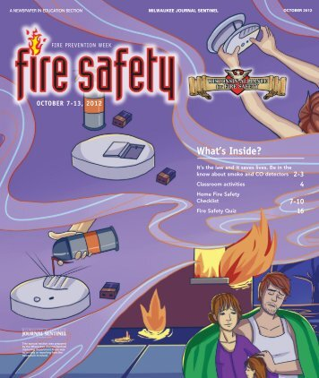 Download the Fire Safety Section PDF - Newspapers In Education