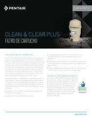 CLEAN & CLEAr PLuS FILTRO DE CARTUCHO - Pentair