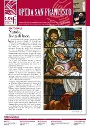 Novembre 2011 - Opera San Francesco per i Poveri