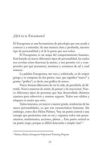 El eneagrama primeras paginas - Prisa Ediciones