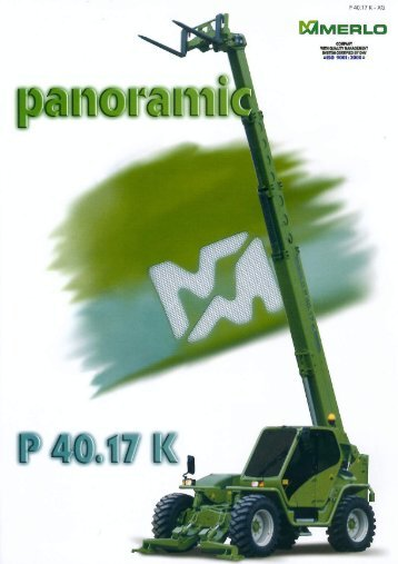 Page 1 Page 2 PANORAMIC P '40.17 K adjustable anti-friction pads ...