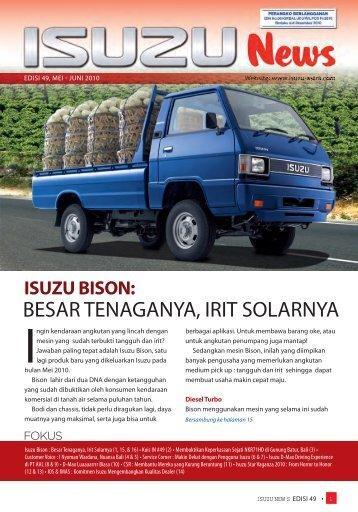News Letter Edisi 49 - PT. Isuzu Astra Motor Indonesia