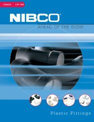 Nibco Plastics Catalog - Paramount Supply