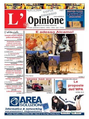 Anno n°16 31-08-2010 - teleIBS