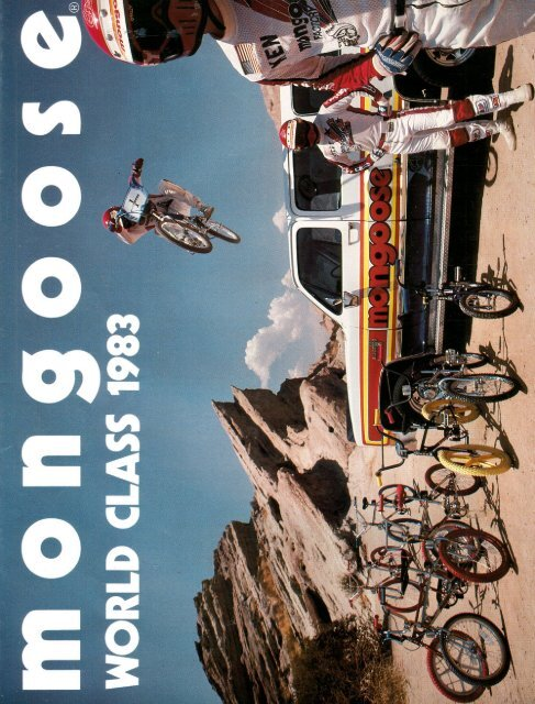 82-83 mongoose catalog - Vintage Mongoose