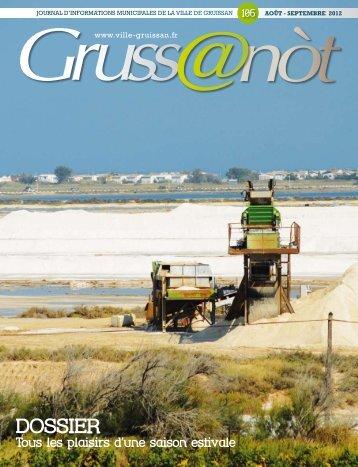 Lo Grussanot Septembre (...) PDF - 4.4 Mo - Ville de Gruissan