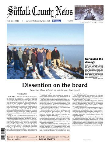 Dissention on the board - Suffolk County News