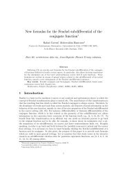 New formulas for the Fenchel subdifferential of the conjugate function