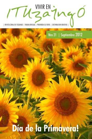 Septiembre 2012 [pdf] - Vivir en Ituzaingó