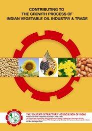 SEA Brochure - The Solvent Extractors Association of India