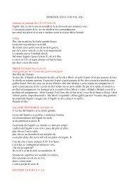DOMENIE XXVI «VIE PAL AN» Antifone di jentrade ... - Glesie Furlane