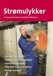 Brosjyre om strømskader - Stami