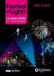 Festival of Light 2012 Brochure - Kirklees Metropolitan Council