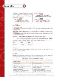 Scheda 34: Il gerundio - Loescher Editore