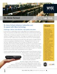 St. Anne School Case Study - Citrix