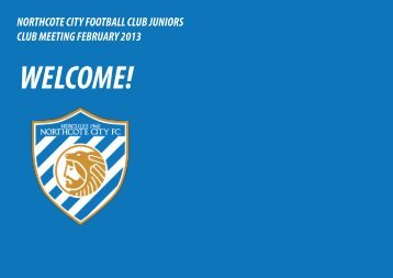 Northcote City Juniors 2013 PDF