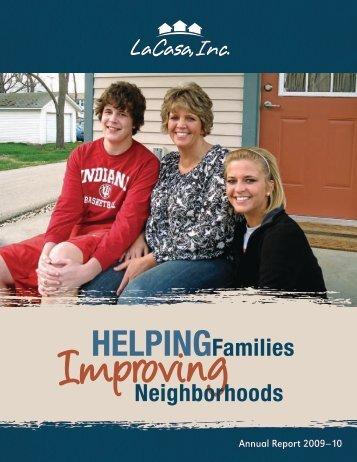 HelpingFamilies neighborhoods - LaCasa, Inc.