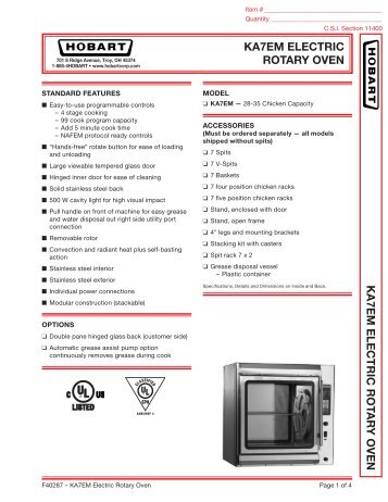 ka7em electric rotary oven ka7em electric hobart?quality\=85 rotary oven wiring diagram hobart gandul 45 77 79 119 hobart dro2g wiring diagram at n-0.co