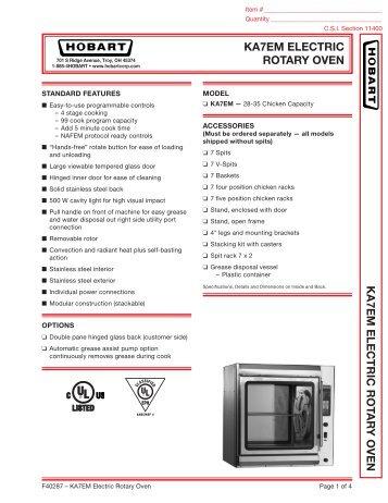 ka7em electric rotary oven ka7em electric hobart?quality\=85 rotary oven wiring diagram hobart gandul 45 77 79 119 hobart dro2g wiring diagram at readyjetset.co