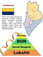 Maksud Lokaliti, Daerah Mengundi, DUN dan Parlimen - Page 2