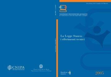 La Legge Stanca: i riferimenti tecnici - PubbliAccesso